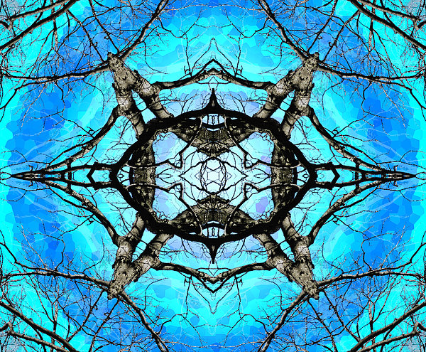 Elemental Force Print by Shawna  Rowe