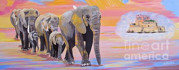 Phyllis Kaltenbach - Elephant Fantasy MUST OPEN