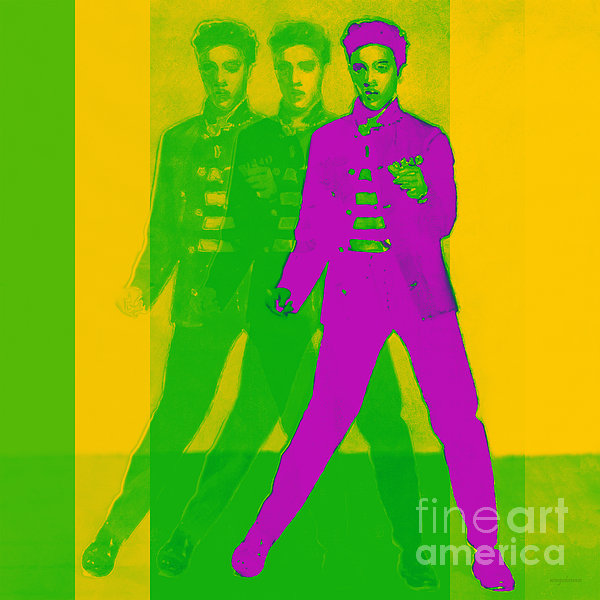 Elvis Three 20130215 Print by Wingsdomain Art and Photography