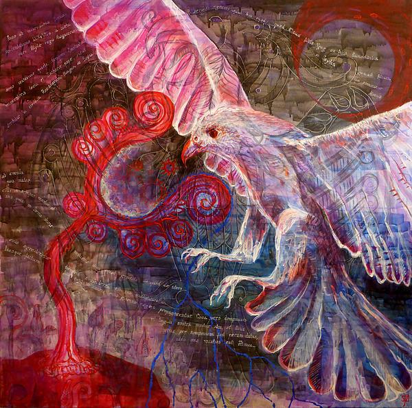 Emese's Dream Print by Szilvia Ponyiczki
