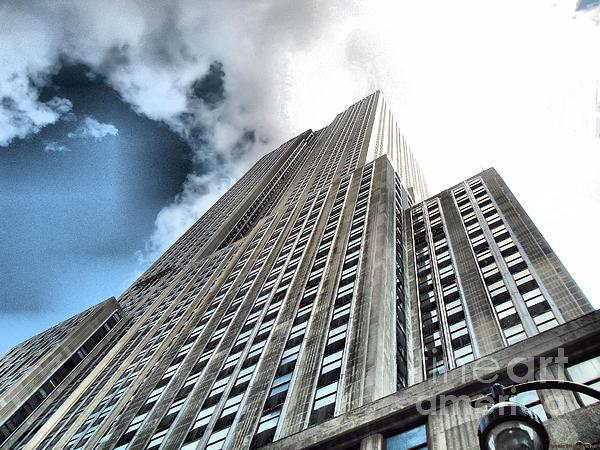 Luther   Fine Art - Empire State Building - Vertigo in Reverse