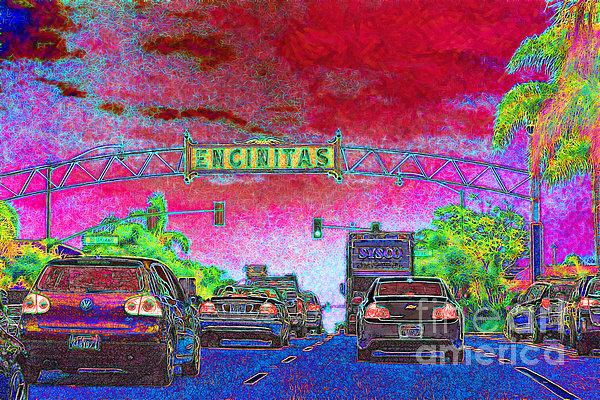 Encinitas California 5d24221 Print by Wingsdomain Art and Photography
