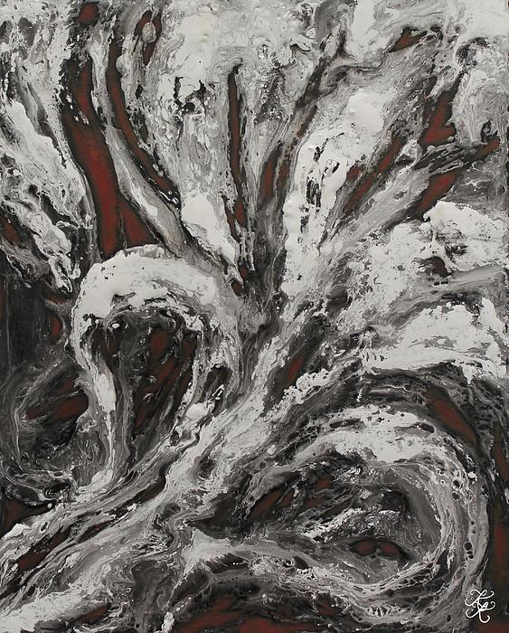 Energy II Print by Karen Kliethermes