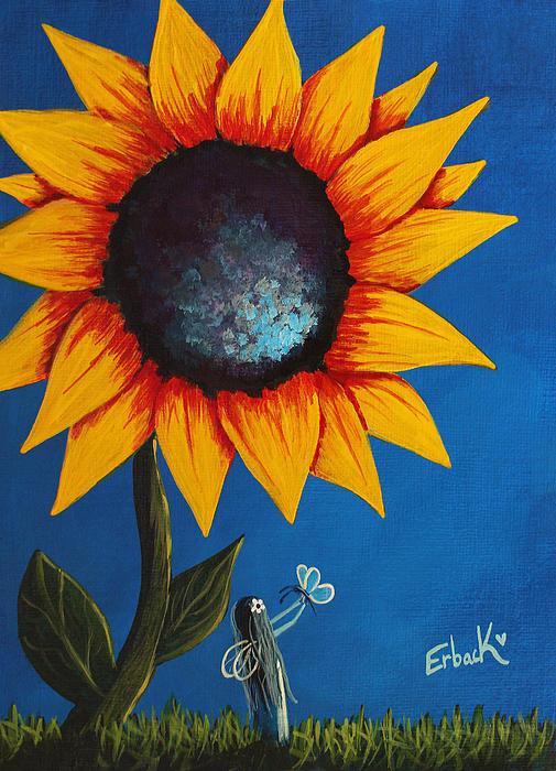 Shawna Erback - Enjoying Her Garden