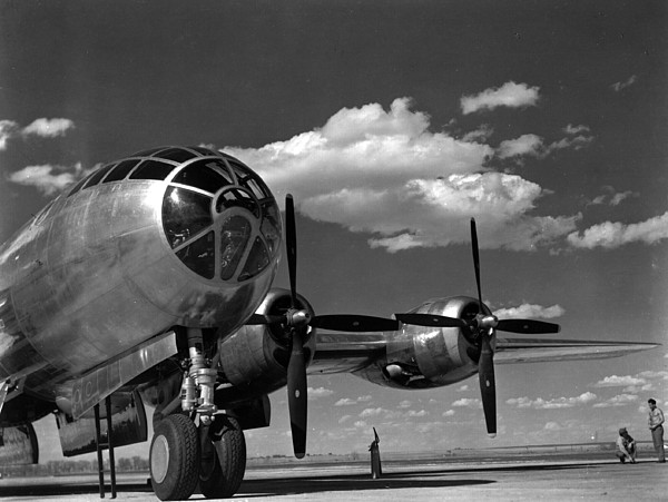Enola Gay On Runway Print by Retro Images Archive