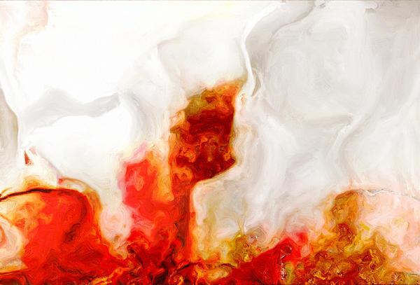 Eruption Print by Jack Zulli
