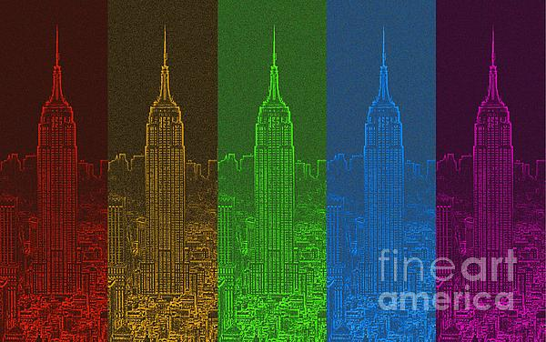 Esb Spectrum Print by Meandering Photography