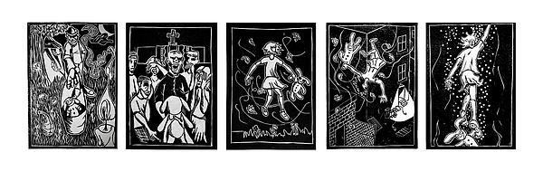 Esther Suite Print by Josean Rivera
