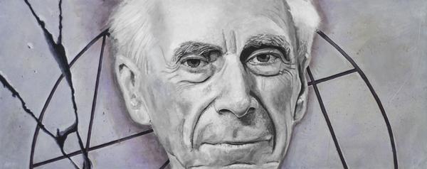 Euclid- Bertrand Russell Print by Simon Kregar