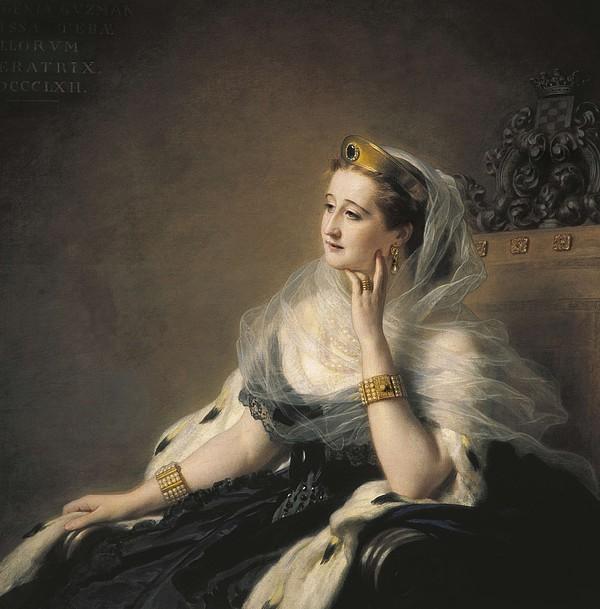 Eugenie, Eug�nia Mar�a De Montijo De Print by Everett
