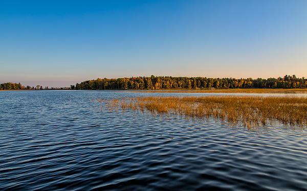 John Bailey - Evening Colors at Leech Lake