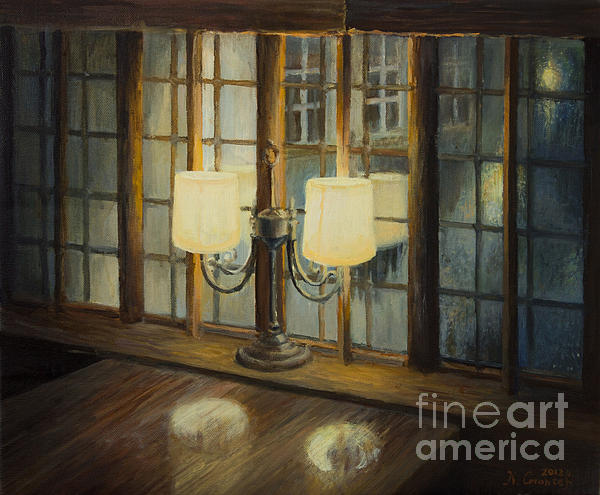 Evening For Two Print by Kiril Stanchev