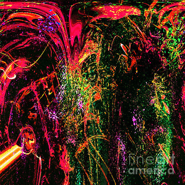 Explosion Of Desire Print by Ashantaey Sunny-Fay