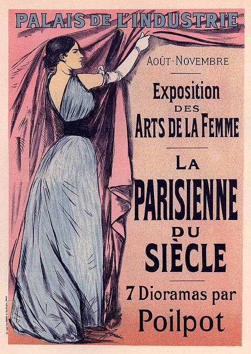 Exposition Des Arts De La Femme Print by Gianfranco Weiss