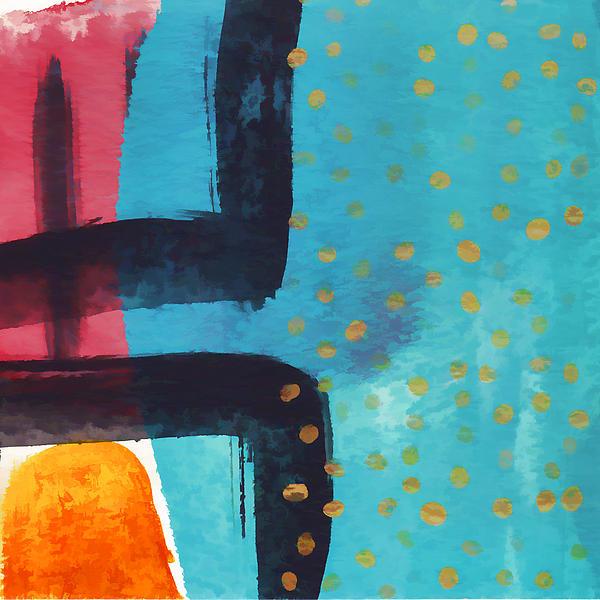 Exuberance Mini 03 Print by Carol Leigh