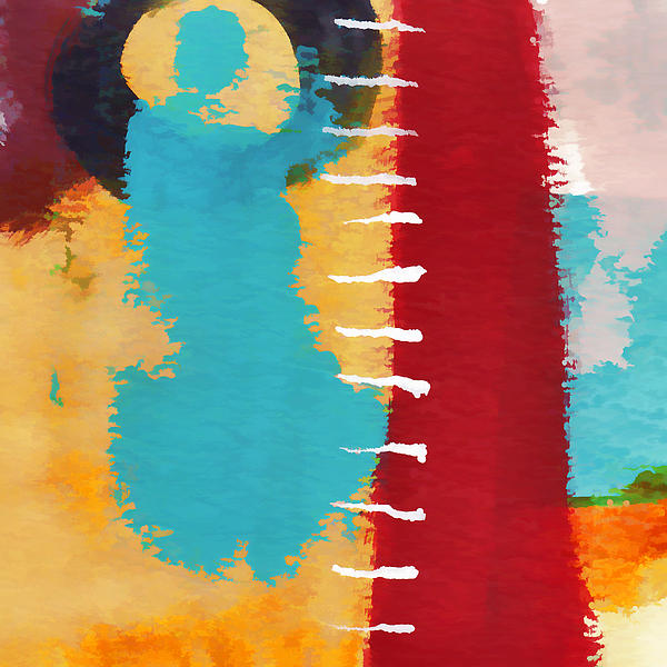 Exuberance Mini 11 Print by Carol Leigh