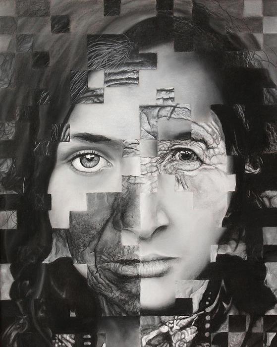 Eye Of The Beholder Print by Pam Raney