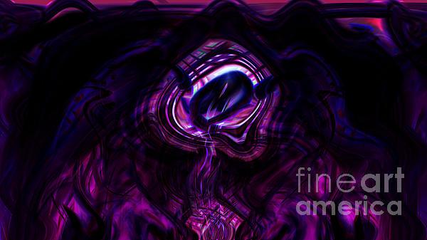 Eye Of The Dream Print by Ashantaey Sunny-Fay