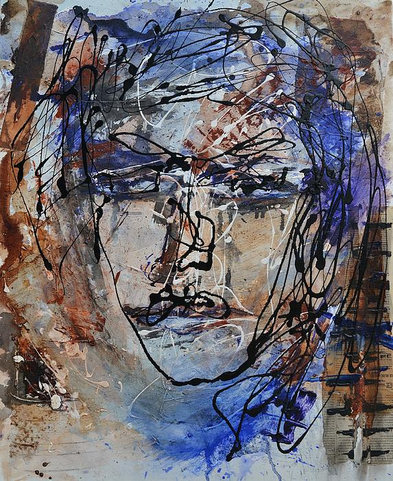 Face To Face Print by Blue Art