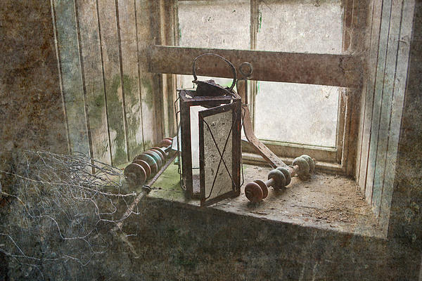 Faded Light Print by Liz  Alderdice