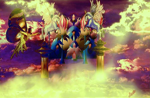 Artist Nandika  Dutt - Fairyland