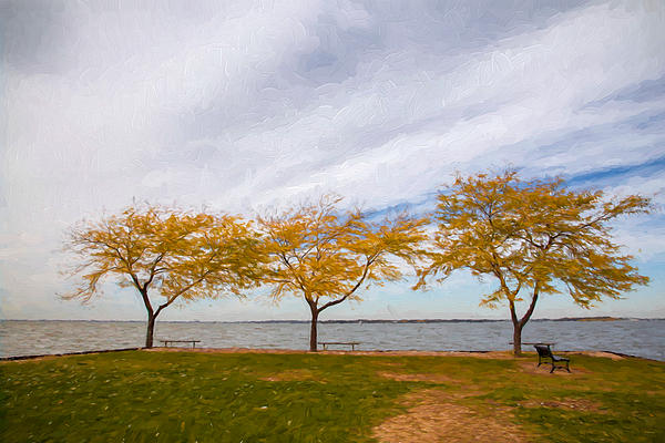 John Bailey - Fall Colors on Lake Erie
