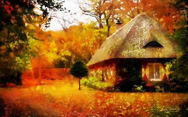 Fall Colors Print by Wayne Pascall