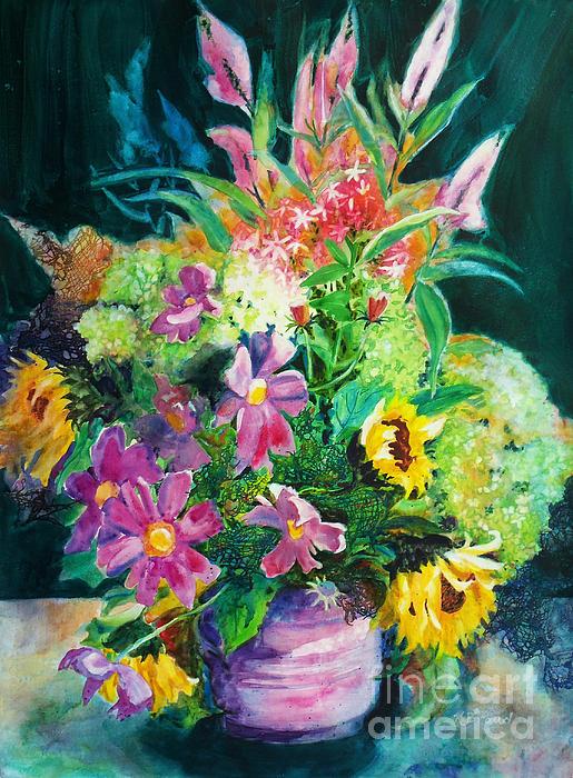 Kathy Braud - Fall Floral Sweetness