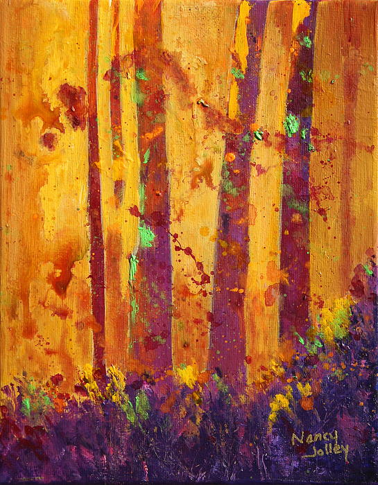 Nancy Jolley - Fall Forest