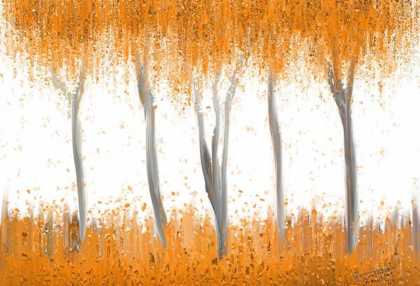 Fall Print by Kume Bryant