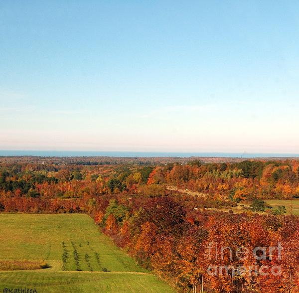 Fall Landscape Print by Kathleen Struckle