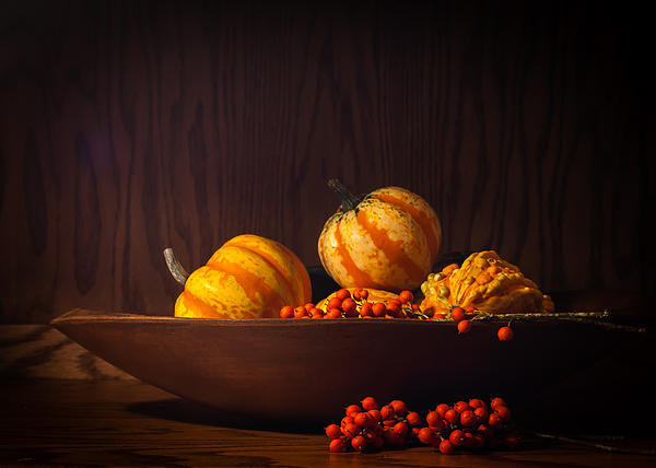 Fall Still Life Print by Wayne Meyer
