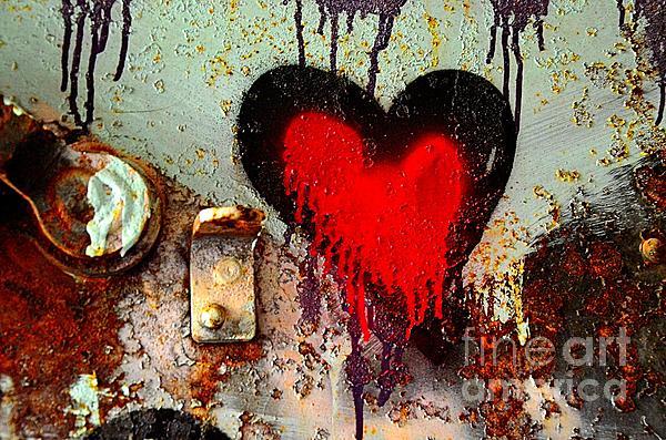 Fanatic Heart Print by Lauren Hunter