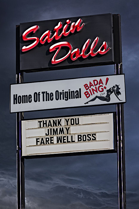 Farewell Boss Print by Susan Candelario