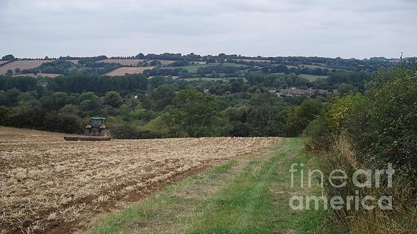 Farm Tractor 2 Print by John Williams
