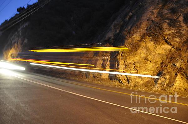 Fast Car Print by Gandz Photography