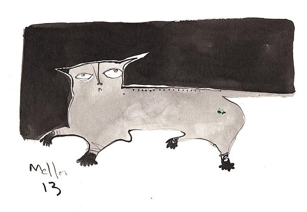 Feles No. 2 Print by Mark M  Mellon
