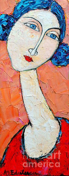 Femininity Print by Ana Maria Edulescu