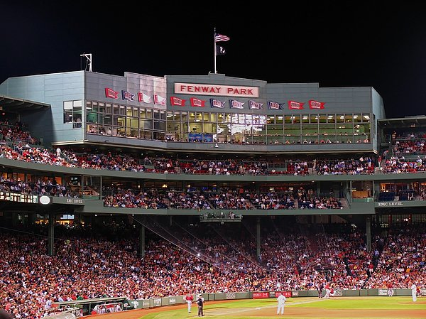 Fenway Park Print by Juergen Roth