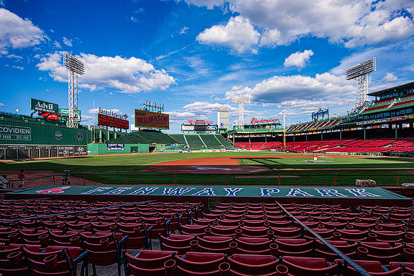 Fenway Park By Tom Gort