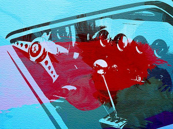 Ferrari Cockpit Print by Naxart Studio