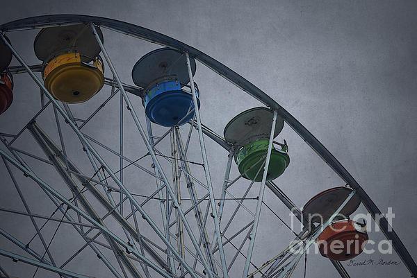 Ferris Wheel Print by David Gordon