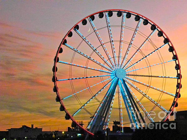 Eve Spring - Ferris Wheel Sunset