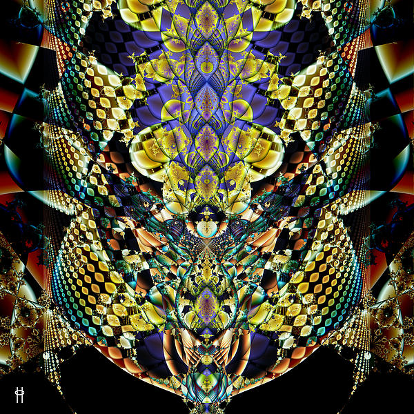 Festooned Print by Jim Pavelle
