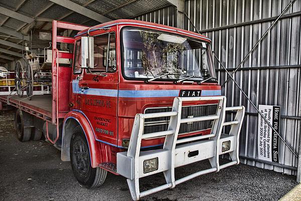 Fiat Truck Print by Douglas Barnard