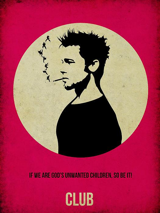 Fight Club Poster Print by Naxart Studio