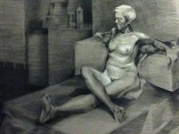 Figure No 2 Print by Julie Orsini Shakher