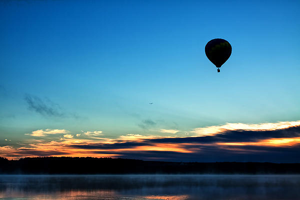 Final Flight - Hot Air Balloon Ride Print by Gary Smith