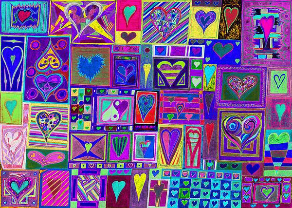 find U'r love found v4  Print by Kenneth James