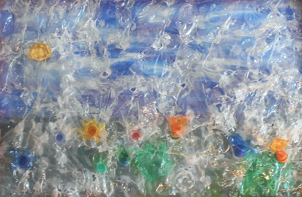Finestra Su Eco Giardino Print by Andrea Cola